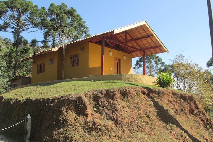 Casa na Fazenda Sertão. - Santo Antônio do Pinhal - Earth House