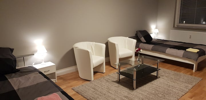 Gemütliche Wohnung, Comfortable bedsit & Wi-Fi !!!