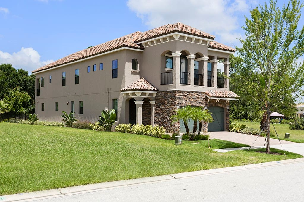 W258 5 Bedroom Luxury Villa Near Disney Houses For Rent In Kissimmee Florida United States