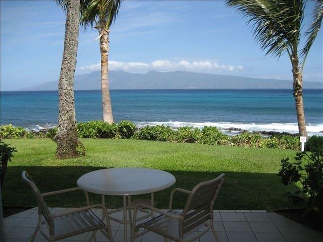 Napili Shores Oceanfront Studio - Hawaii - Apartament