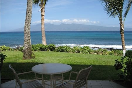 Napili Shores Oceanfront Studio - Hawaii - Wohnung