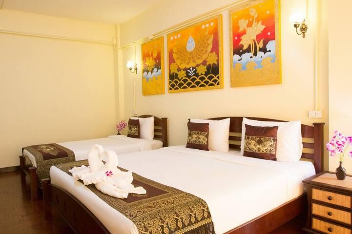 Sasima House - Deluxe Twin Room - Chiang Mai - Domek gościnny