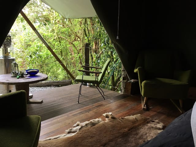 Kaniere Tailings - Luxury Wilderness camping