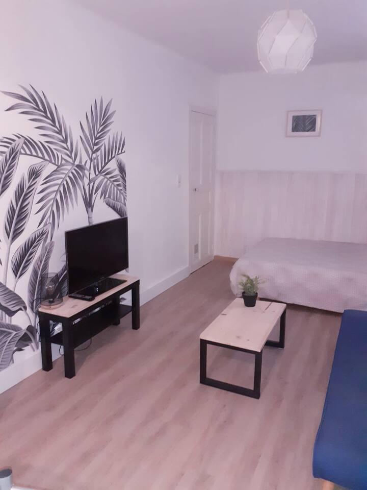 Studio  calme et cosy Beziers proche A9 et plages