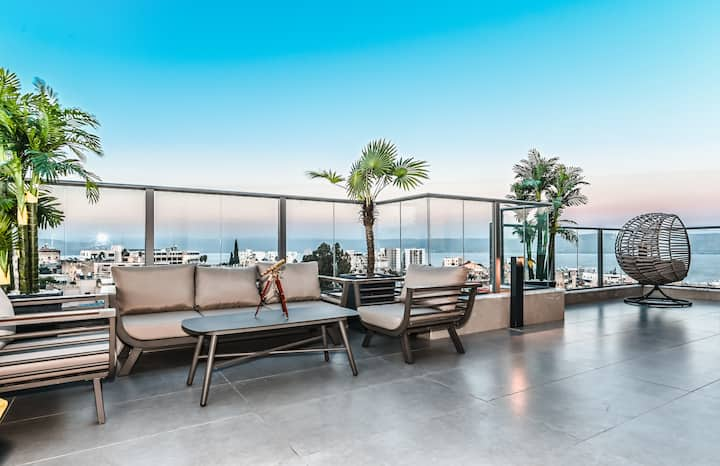 Luxury Penthouse Boutique Kinneret