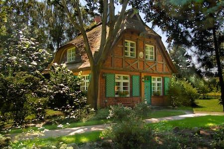 Ferienhaus Idylla, reedgedeckt - Essel - House