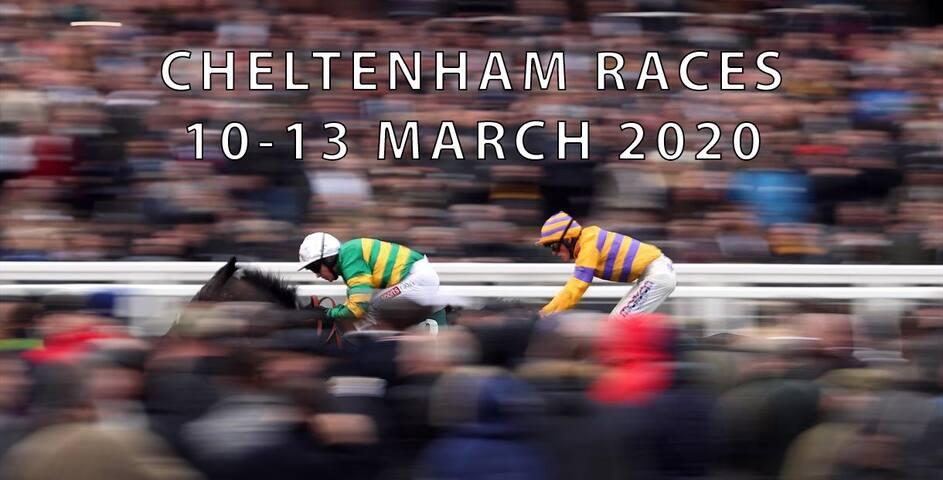 Cheltenham Races March 2020, whole house, 8 people