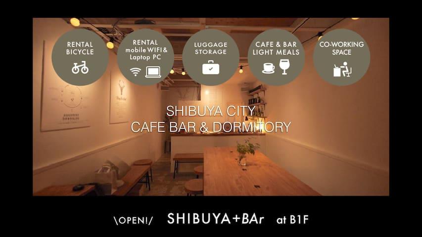 Shibuya #5-7 CAFE&DORMITORY