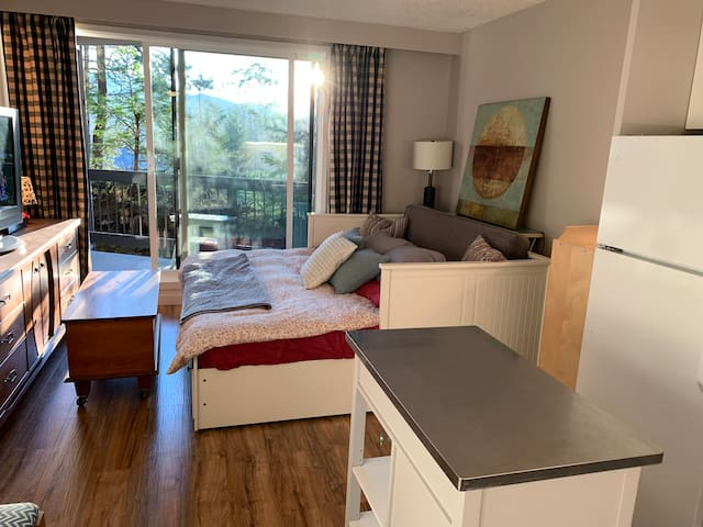 Newly renovated Creekside Suite 5 Min walk to lift