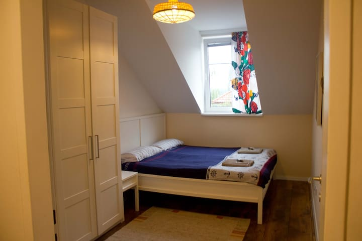Bright double room. Thermal Bath at your doorstep!