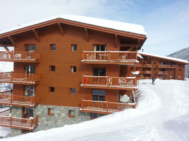 LES ARCS 1800  T3  sur pistes, piscine, parking - Bourg-Saint-Maurice - Lägenhet