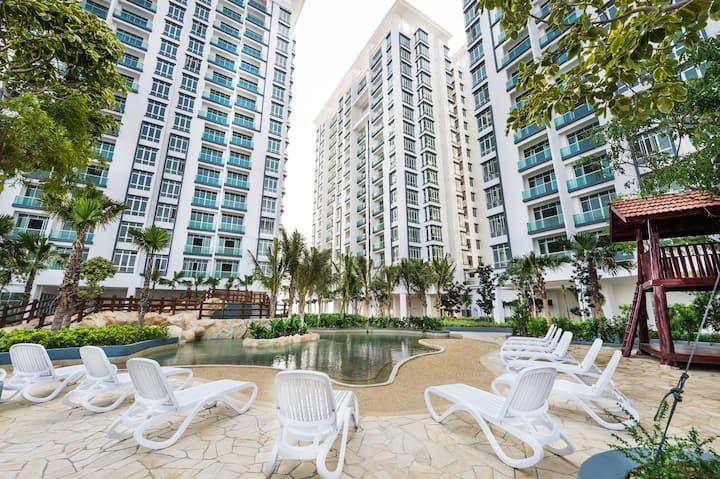 3 Bedroom Apartment @ BM City Leisure Bkt Mertajam
