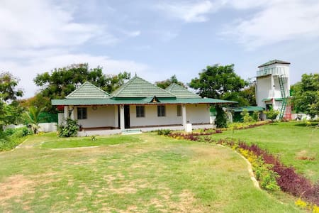 Serene home near Kalpakkam for peaceful getaway.