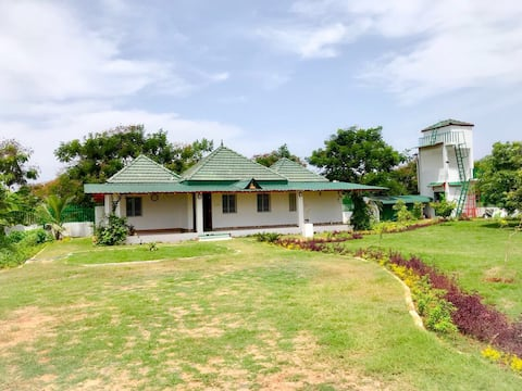 Serene home near Kalpakkam for peaceful getaway.