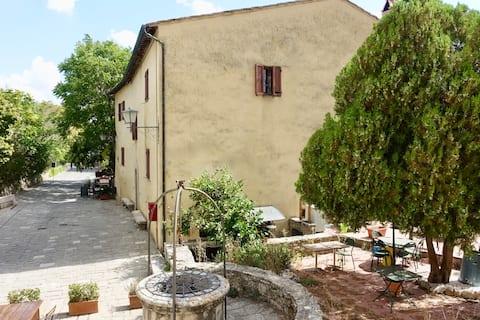 Cozy home in the very center of Bagno Vignoni