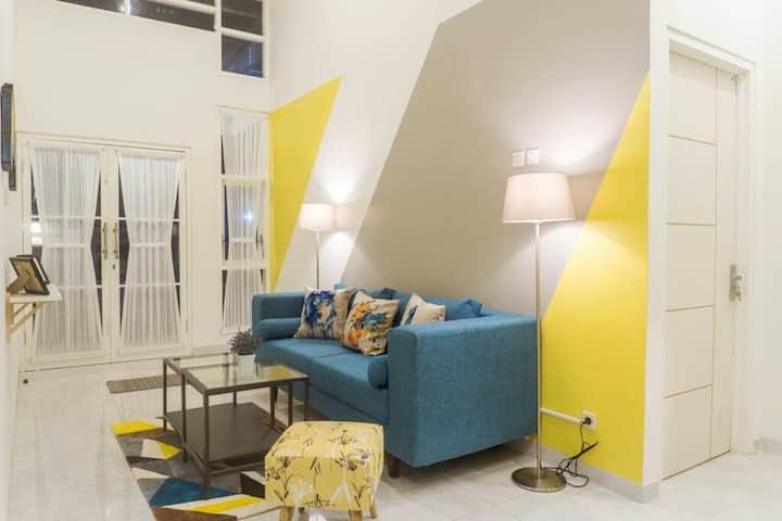 VILA ALVA 2 bedroom depan JATIM PARK 2 pas