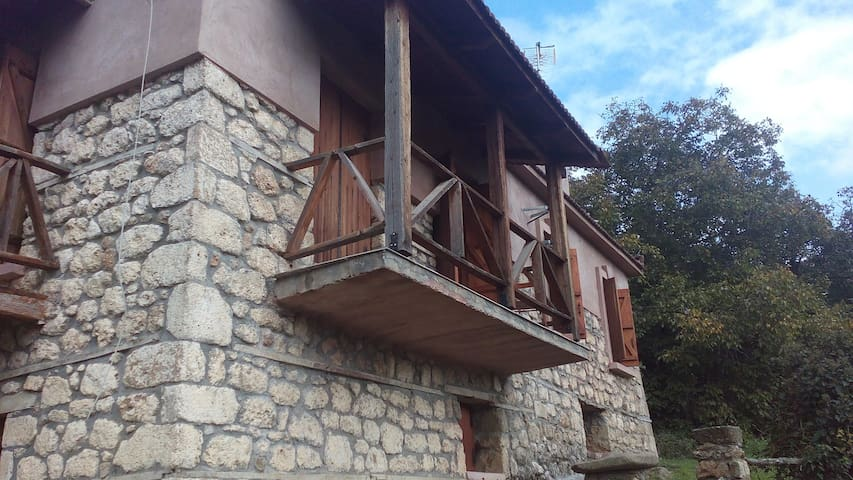 Lovely house - Ano Trikala - Huis