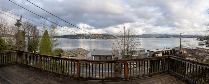 Seattle Charmer with Breathtaking Views