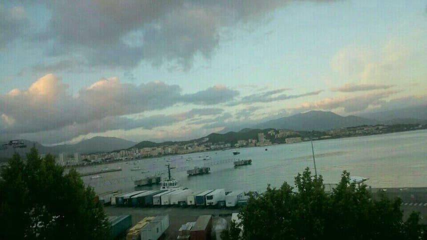 F3 vue mer, centre ville d'Ajaccio