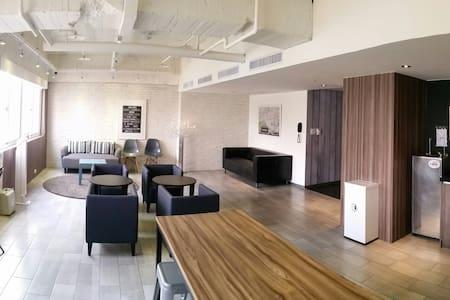 歡樂的宿舍空間(不含早餐)台中車站3分鐘,近宮原眼科、一中商圈 - Central District - Boutique-Hotel