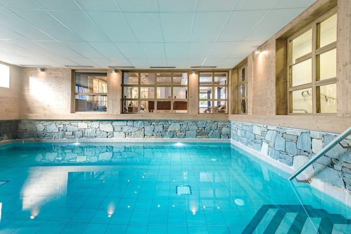 Appartement sympa à 400m des remontées ! Accès Piscine + Sauna + Spa