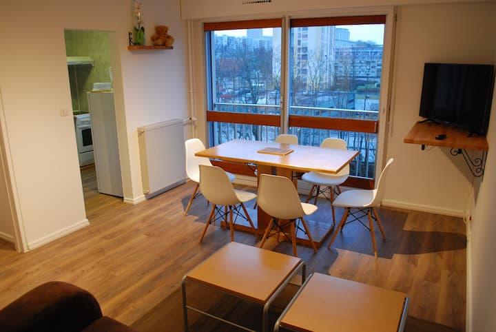 Dijon, appartement de 1 à 8 personnes