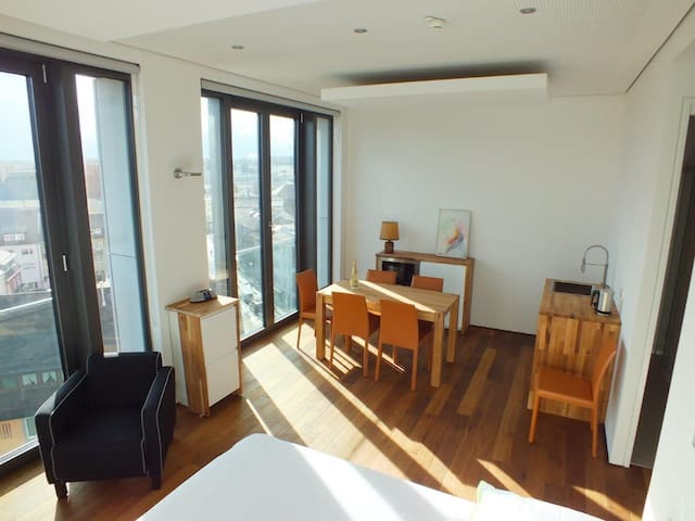 Nice apartment with Münster view, the city center - Ulm - Daire