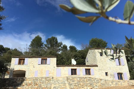 Stone Provençal house - Figanières - House