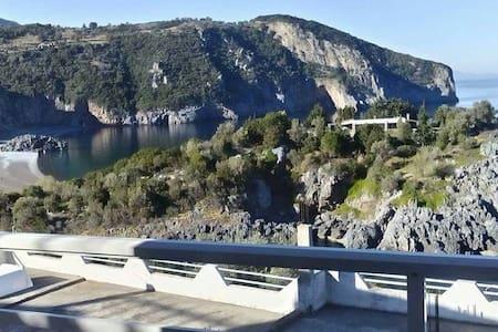Δίκλινο με υπέροχη θέα στο Αιγαίο - Λιμνιώνας - Bed & Breakfast