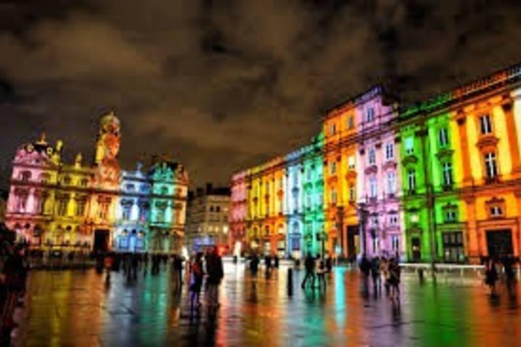 Les illuminations : Hôtel de Ville