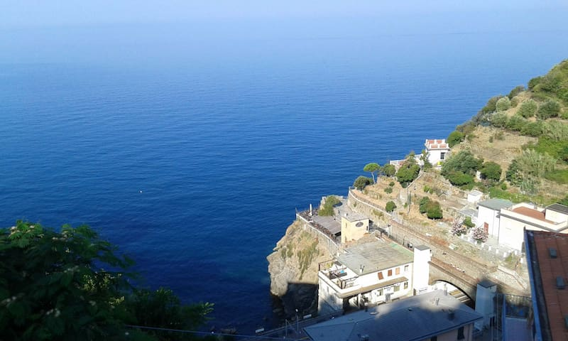 Terrazza vista mare - Houses for Rent in Riomaggiore, Liguria, Italy