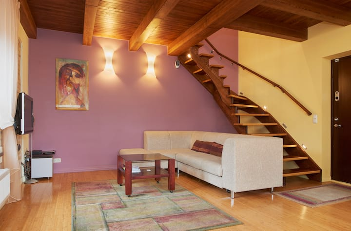 Duplexr loft in Vilnius