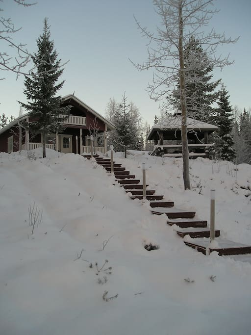 Same place in winter
