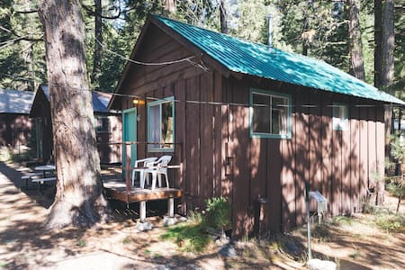 Lovely Cabin nestled in the woods by Lassen NP