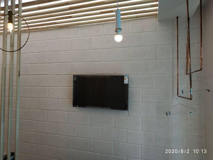 Новый Арт лофт апартаменты в техно стиле