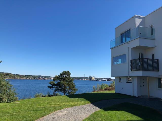 Tenvik fjord in Stavern/Larvik near Torp Airport