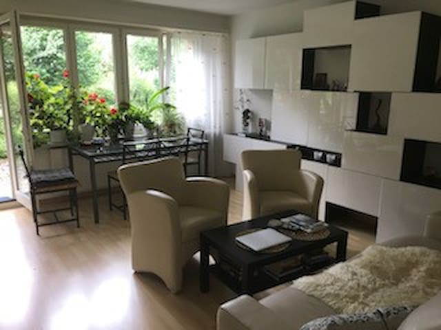 Private room in the green area in Zurich suburb
