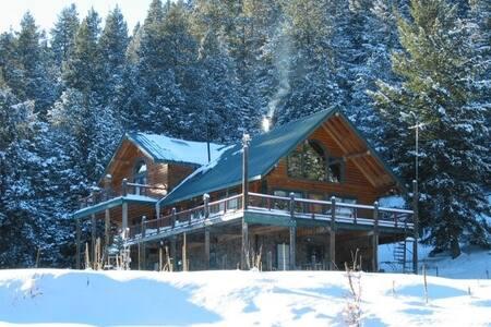 Livin Hi Lodge Log Cabin Haven - Cloudcroft - Ev