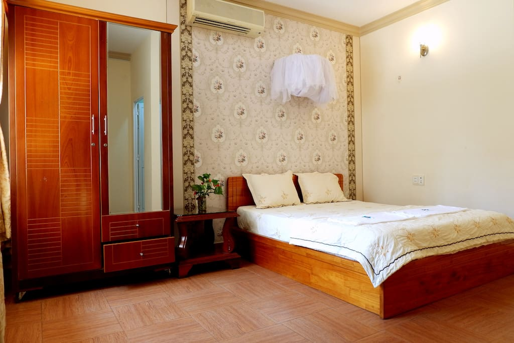Vũng Tàu Ali Villa 4 has comfortable bed for your great night's sleep