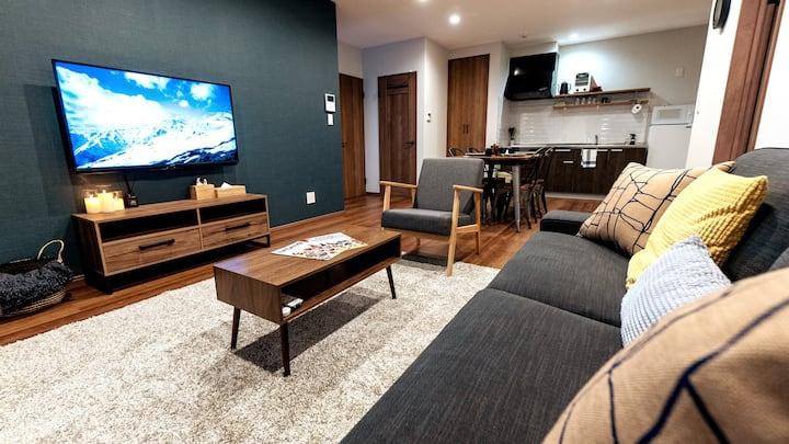 NEW 2BR Apartment Hakuba - Centrally located