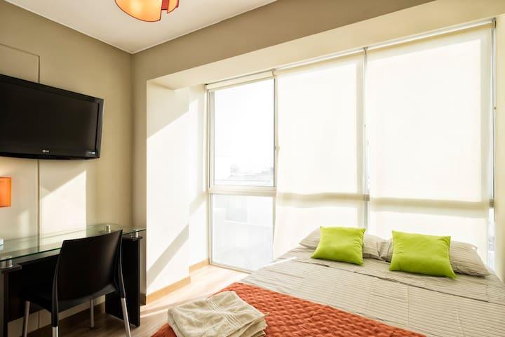 Modern 3 Room Apartment Suit Miraflores Larcomar - Miraflores - Departamento