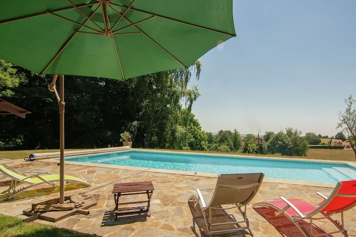 Modern Villa in Salagnac France With Private Swimming Pool