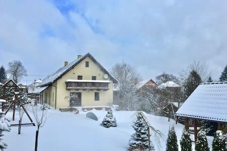 Winter time - ski slopes opened! - Písečné