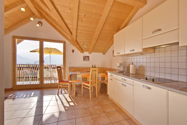 Ferienwohnung Schlern mit Balkon - Eppan - Apartment