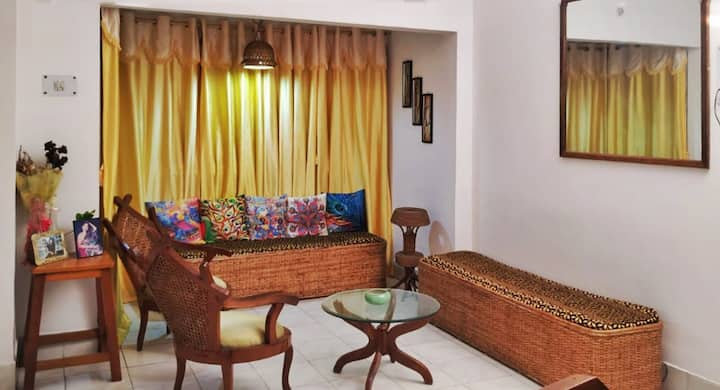Traveller's space at Nibha's Nest by OK North East