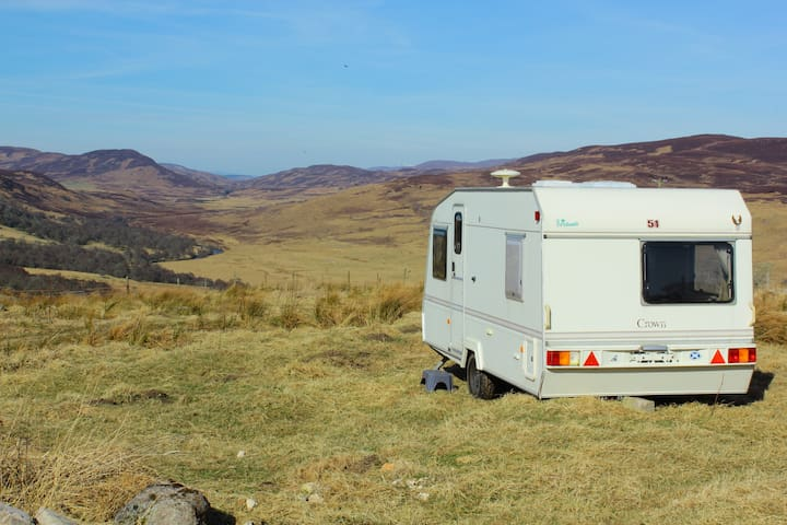Highland Croft stay on a traditional Scottish farm - Highland - Camping-car/caravane