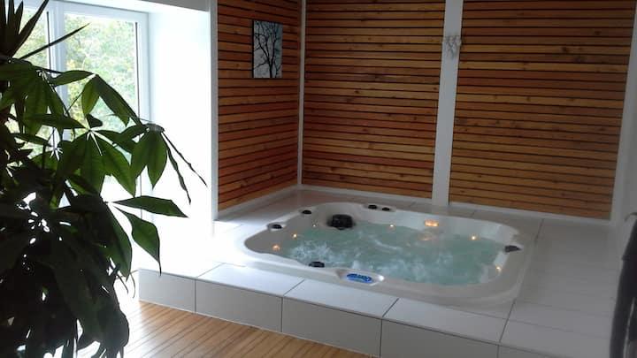 VOSGES Saint-Dié, chambre tout confort, Sauna, Spa