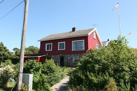 Large family house in Lyngør - Lyngør - Casa
