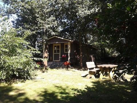 3 Holzhütten mitten in der Natur-Die Almhütte