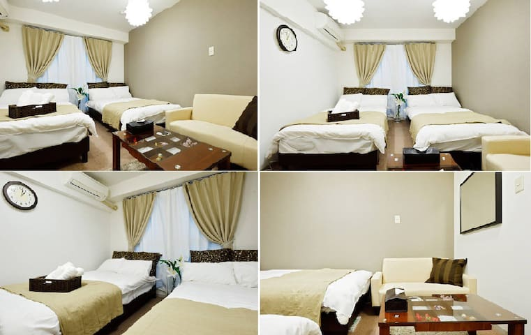 Cozy apartment, USJ,Kaiyukan, WIFI #205